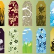 Royalty-Free Stock Vector Image: Set of bookmarks