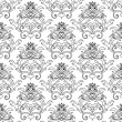 Damask background — Imagen vectorial