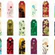 Bookmarks set — Vettoriali Stock