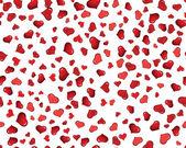 Fondo transparente corazones — Vector de stock