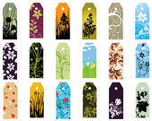Set of bookmarks — Stock Vector