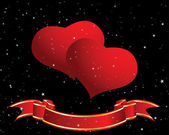 Srdce frame — Stock vektor