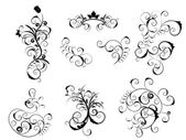 Set of victorian elements — Stockvector