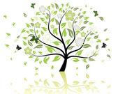 Tree pattern — Stock Vector