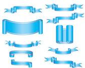 Vector ribbons — Stock Vector