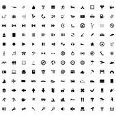 Biggest icon collection — Stockvector
