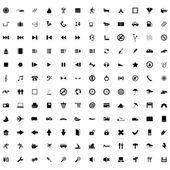Grootste icoon collectie — Stockvector