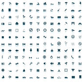 Biggest icon collection — Stock Vector