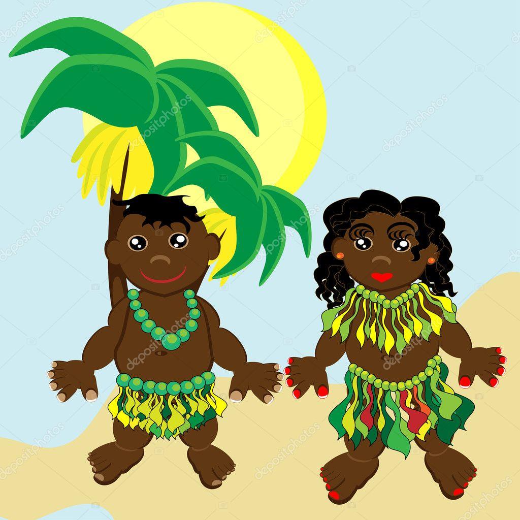Поздравление папуасы