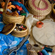 Stock Photo: Items for needlework