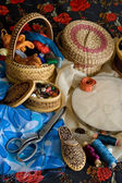 Items for needlework — Stock Photo