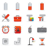 Computer Icons | Red Series 01 — 图库矢量图片