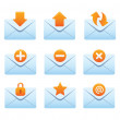 Website & Internet Icons | Envelopes 02 — Stockvectorbeeld