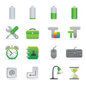 Computer Icons | Green 01 — Vector de stock