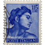01 Postage Stamp — Stock Photo