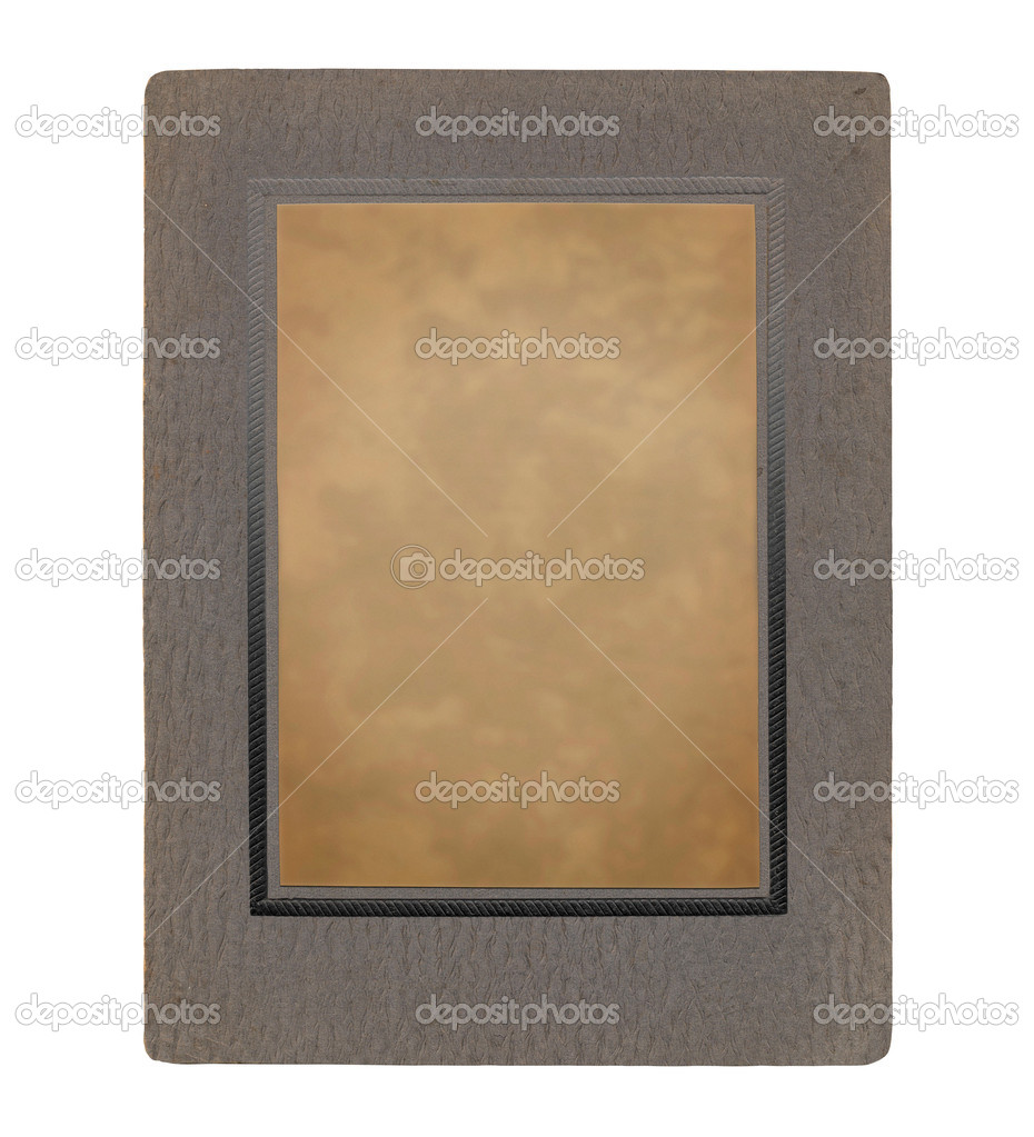 Old picture frame with room to incorporate image — Stock Photo #3908642