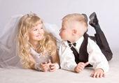 Little couple — Stock Photo
