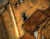 Brons lås — Stockfoto