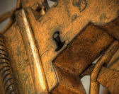 Bronzen vergrendelen — Stockfoto