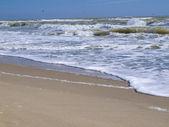 Obraz moře během bouře, slunečný den — Stock fotografie