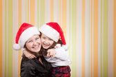 母と娘の笑い — ストック写真