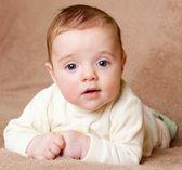 Baby looking at camera — Stock Photo