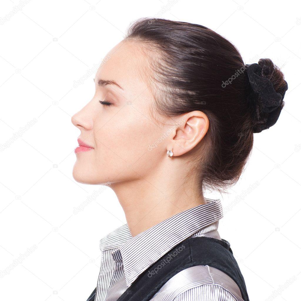 Фото красивых женских профилей 14 фотография