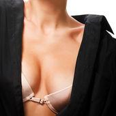 Closeup of female bra — Stock Photo