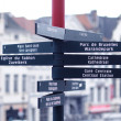 Direction signs - Stock Photo