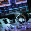 Stockfoto: DJ set