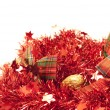 Red garlands - Stock Photo