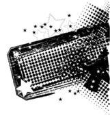 гранжевый баннер — Cтоковый вектор