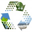 Stockfoto: Recycle sign