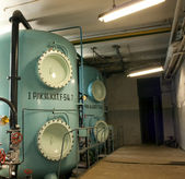 Old rusty technology — Stock Photo