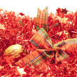 Red garlands — Stock Photo