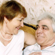Foto Stock: Elderly pair