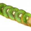 Juicy fruit kiwi — Stock Photo