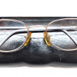 Eyeglasses in case — Stock Photo