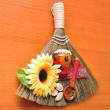 Broom success — Stock Photo