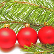 Christmas tree decoration - Foto Stock