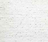 белый кирпичной стены текстура — Стоковое фото