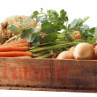 Crate vegetables — Foto de stock #3397847