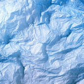 Blue silk paper — Stock Photo
