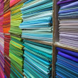 Colorful Textiles - Stockfoto
