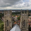 Royalty-Free Stock Photo: City view from top of York Minster