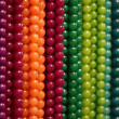 Stock Photo: Colorful gemstones and beads