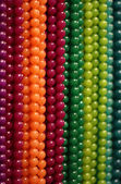 Colorful gemstones and beads — Stock Photo