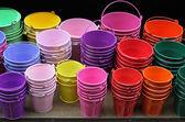 Cubos de colores — Foto de Stock