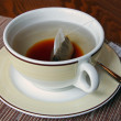 Stock Photo: Cup of English tefor breakfast