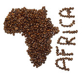 African coffee — Stock Photo